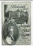 Beloeil 1914 - Centenaire Du Prince De Ligne Congrès - Griffe Beloeil - 2 Scans - Beloeil