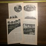 1909 DOCUMENT JOURNEE DU PARFAIT SERGOT - Vieux Papiers