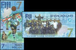 Fiji 7 Dollars 2016 UNC - Fiji