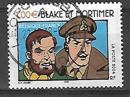 OCB Nr 3283 Blake & Mortimer Jacobs Strip BD Comic - Centrale Stempel - Version FRANCE !!! - Belgique