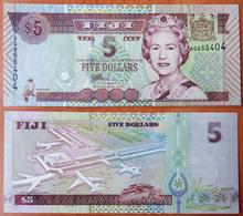 Fiji 5 Dollars 2002 UNC - Fidji