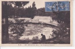 CPA  ROYAN  17 : Arenes De Vallières  1934 - Royan
