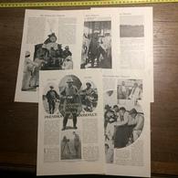 1909 DOCUMENT MES CHASSES DANS L OUGANDA PAR LE PRESIDENT ROOSEVELT - Vieux Papiers