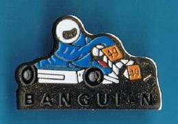 PIN'S //   ** KARTING N°49 // BANGUI - NAIM ** - Car Racing - F1