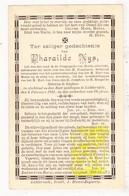 DP Pharaïlde Nys Nijs ° Izegem 1832 † Lichtervelde 1891 - Images Religieuses