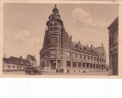 HAZEBROUCK,,,,,,   L'  HOTEL Des  POSTES ,,,,,, VOIR La  VOITURE ,,,,,VOYAGE   1940,,,,ANIMEE,,,,, - Poste & Facteurs