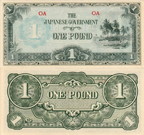 Oceania 1 Pound 1942 UNC Р-4 - Autres - Océanie