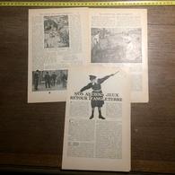 1909 DOCUMENT NOS ANCIENS JEUX RETOUR D ANGLETERRE DIABLO CLUB CROQUET - Vieux Papiers
