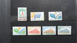 France : Service : 7 Timbres Neufs - Neufs