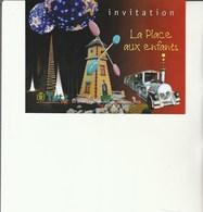 L3 - Invitation Inauguration Place Aux  Enfants à YUTZ - Faire-part