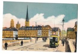 CPA 76 - Rouen - Le Pont Corneille - Rouen