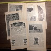 1909 DOCUMENT LES PALAIS DU ROI SOLEIL MENACENT RUINE VERSAILLES - Vieux Papiers