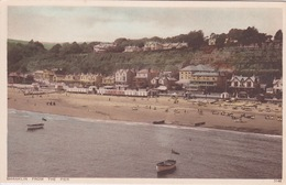 ANGLETERRE - ISLE OF WIGHT - SHANKLIN FROM THE PIER - Angleterre