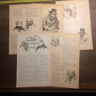1909 DOCUMENT PECHE D INNOCENT NOUVELLE DE A LE BRAZ TREGOR ILLUSTRATIONS HUARD - Vieux Papiers