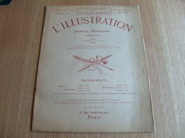Journal L'illustration 25 Mars 1911 - Lithographies