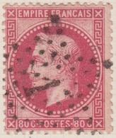 N°32 Oblitéré étoile 1, Belle Frappe, TB - 1863-1870 Napoléon III. Laure