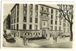 Nice  Hôtel FRANCIA 9, Bld Victor Hugo (verso Publicité) - Pubs, Hotels And Restaurants