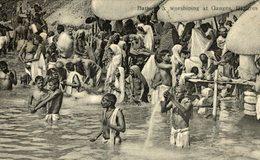 RARE   Benares, Bathing & Worshiping At Ganges - India