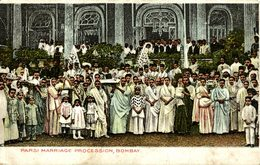 PARSI MARRIAGE PROCESSION BOMBAY - India