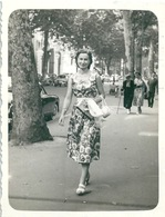 Photo Originale Jeune Femme Pin Up Nice - Persone Anonimi