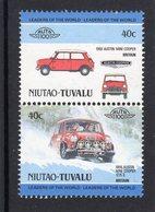 Austin Mini Cooper S Rallye  (1968)  -  2v Se-tenant MNH  -   Niutao-Tuvalu - Cars