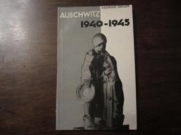AUSCHWITZ 1940 1945 KAZIMIERZ SMOLEN 1961 - 5. Guerres Mondiales
