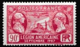 FRANCE 1927:  La  Légion Américaine (Y&T 244), Neuf * - Frankreich