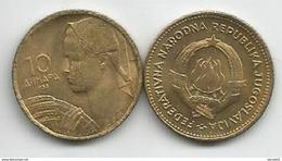 Yugoslavia 10 Dinara 1955. UNC/AUNC KM#33 - Yugoslavia