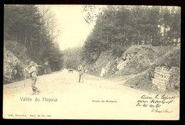 Cpa Route De Modave   1904 - Modave