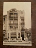 Oude Postkaart  Hotel Pension  MARIE - Louise   BLANKENBERGHE - Blankenberge