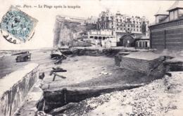 76 - Seine Maritime -  PUYS  Pres De Dieppe - La Plage Apres La Tempete - Dieppe