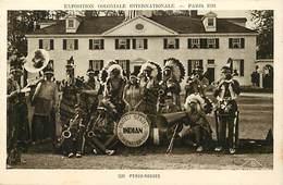 Pays Div -ref P380- Etats Unis D Amerique - United States Of America - Usa -indiens Peaux Rouges - Paris 1931- - Indiens De L'Amerique Du Nord