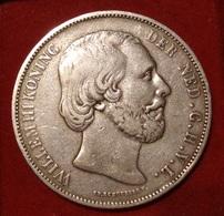 NETHERLANDS. 2 1/2 GULDEN 1873. WILLEM III. SILVER. ARGENT. PAYS BAS. - [ 3] 1815-… : Kingdom Of The Netherlands