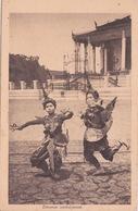 Indochine _CAMBODGE - DANSEUSES CAMBODGIENNES - FEMME CAMBODGIENNE - Cambodia