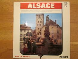 Disque Vinyle  ALSACE  Polka Des Vignerons  Cigognes   HANS IM Schockeloch  Au Cabaret Schwendi   Lorraine Folklore - Country En Folk