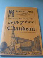 Bois-D'Haine - 2013 - Chaudeau - 74 Pages De Pub De La Région - Non Classés