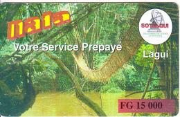 GUINEA - Sotelgui Prepaid Card FG 15000, Used - Guinee