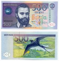 1996 // EESTI BANK // Commémorative // 500 KROONI  // UNC - Estonie
