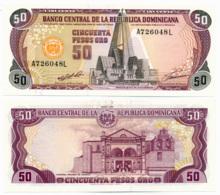 1992 // BANCO CENTRAL DE LA REPUBLICA DOMINICANA // 50 PESOS ORO // AU - Dominicaine