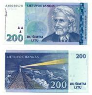 1997 // LIETUVOS BANKAS // Commemorative // 10/20/200 LITU // UNC - Lituanie