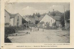 SAULNOT Route De Marval Et Les Lavierres - Autres Communes