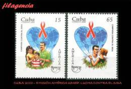 CUBA MINT. 2000-25 EMISIÓN AMÉRICA UPAEP. LUCHA CONTRA EL SIDA - Kuba