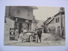 LE CHATELARD Rue Centrale Commerce Voiture - Le Chatelard
