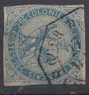 #134# COLONIES GENERALES N° 4 Oblitéré CORR D'ARM Vinh-Long (Cochinchine) - Águila Imperial