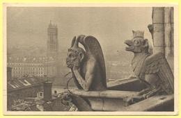 FRANCIA - France - 1931 - 15c Paris Exposition Coloniale Internationale - 75 Paris - Notre Dame - Détail De La Façade Ou - Notre Dame De Paris