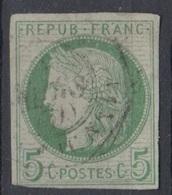 #134# COLONIES GENERALES N° 17 Oblitéré Petit-Canal (Guadeloupe) - Cérès