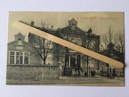 GENAPPE -BOUSVAL»ÉCOLES COMMUNALES Nº18»Panorama, Animée (1910)Édit E.MIESE-WAUTIÉ. - Genappe