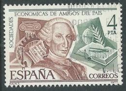 1977 SPAGNA USATO SOCIETA ECONOMICHE AMICI DEL PAESE - F13-2 - 1931-Today: 2nd Rep - ... Juan Carlos I