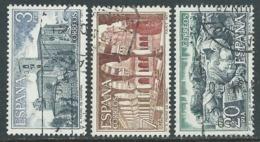 1977 SPAGNA USATO MONASTERO DI S. PIETRO DI CARDENA - F13-3 - 1931-Today: 2nd Rep - ... Juan Carlos I