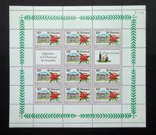 St. Vincent 1979 SG604 50c Independence Of St Vincent & The Grenadines Minisheet With Control Number 3058 MNH. - St.Vincent (1979-...)